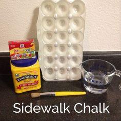 Homemade Sidewalk Ch