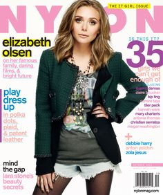 Flashback to our 2011 cover story with cool girl Elizabeth Olsen