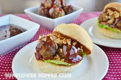 Cheddar and Bacon Meatball Sliders