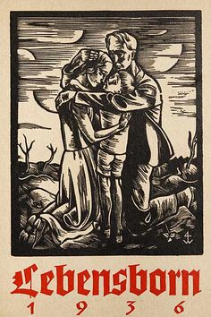 A poster for Lebensborn!