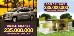Ya estamos ansiosos por premiar la Doble Chance! Por solo Gs. 10.000 tenes doble posibilidad de ganar! Jugá #senete #cheporemoi