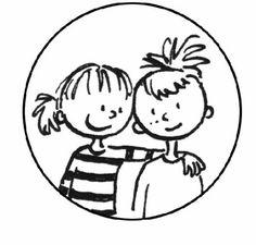 samen spelen - Google zoeken Kids Scrapbook, Teacher Binder, Tandem, Classroom Organization, Clip Art, Drawings, Illustration, Pitch, Counseling