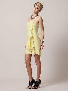 Jayden Silk Side Drape Dress. Size small. $363 Super cuteness--perf for spring.