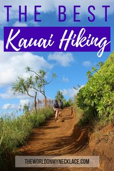 Hawaii really is a a hiker's paradise, and the Kauai hiking trails proved to be some of the best I did in all of the Hawaiian islands. During my eight days on Kauai I managed to fit in five Kauai hiking trails, all which were wonderful, and with each Kauai hiking trail offering different scenery. Click through to read about which Kauai hiking trails you should do when you visit Kauai. | The World on my Necklace