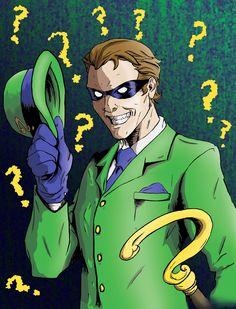 Arkham Asylum Most Wanted: Riddler Batgirl, Catwoman, The Riddler, Gotham Villains, Best Villains, Comics Toons, Sci Fi Comics, Batman Wallpaper, Im Batman