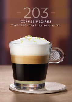 Gourmet coffee doesn't have to involve complicated instructions or long preparation times. Check out this collection of easy 10-minute coffee recipes from Nespresso.  Choose from options like a Vienna Vanilla Coffee Latte or Cinnamon Sweet Iced Mocca. You'll love how easy making coffee can be.