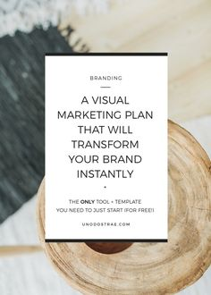 How to use this visual marketing plan to revamp your branding instantly (+ 2 free downloads to help you start today) | unodostrae.com