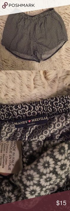 Brandy Melville cute shorts In great condition  Super soft and comfortable Brandy Melville Shorts