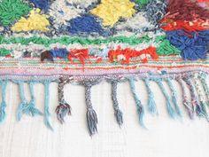 moroccan rug. boucherouite. dar amïna shop
