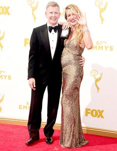 Cat Deeley Shows Off Baby Bump on the Emmys 2015 Red Carpet: Photos! - Us Weekly