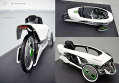 Quarter scale model of Predator HPV by Eugen Ackermann Trike Bicycle, Recumbent Bicycle, Cargo Bike, Moto Bike, Velo Design, Bicycle Design, E Quad, Electric Trike, Electric Cycles