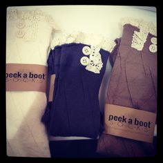 Boot socks! I love mine! Such a great accessory! I can't wait to get more!