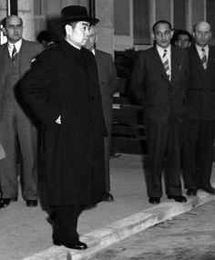 Chinese Premier Zhou Enlai at Geneva, 1954