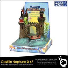 Castillo Neptuno 0-67 Penn Plax. De venta en Aquatic Shop Acuario.