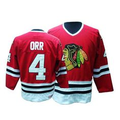 Chicago Blackhawks Bobby Orr 4 Red Authentic Jersey Sale Blackhawks Jerseys 25b5cf303