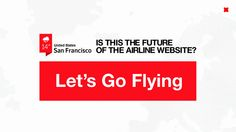 #webdesign  Is This The Future of The Airline Website? by Fantasy Interactive