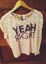 koronkowa koszulka H&M