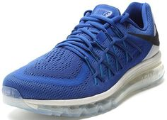 Nike Air Max 2015 Men's Running Sneaker blue-black-white ★ http://newproductsite.com
