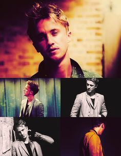 Tom Felton. i know he's in slytherin but come on...i love a bad boy