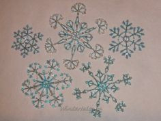 Beaded Snowflake inspiration| Tales of winter copyright