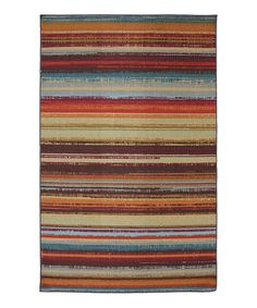 Take a look at this Avenue Stripe Rug on zulily today!