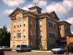 Historic Union School in West Dundee, IL, that became affordable senior apartments.