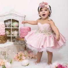 ARABELLA Pretty Little Dress, Little Dresses, Cute Dresses, Beautiful Dresses, Flower Girl Dresses, Baby Dresses, Girls Dresses, Baby First Birthday Dress, Cherry Blossom Dress
