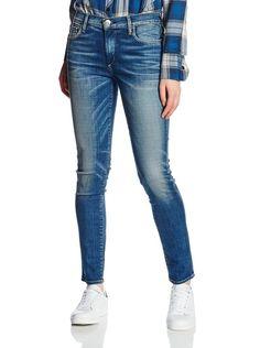 True Religion Women's Halle Mid Rise Super Skinny Jeans Size 27 NWT $219 #TrueReligion #SlimSkinny