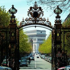 Parc Monceau à Paris, Île-de-France
