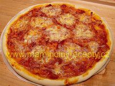 Bezlepková pizza Pepperoni, Food And Drink, Pizza, Gluten Free, Cheese, Glutenfree, Sin Gluten, Grain Free