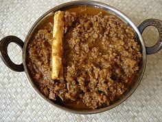 We had a guest for lunch today. He is extremely fond of kheema curry that I prepare and had requested for it. This kheema curry that I am featuring today is a standard one...