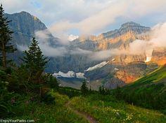 Cracker Lake Trail, Glacier Park