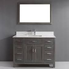 ALDER bathroom CABINETS gel stained - Google Search