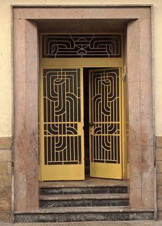 Wrought Iron Door, Casablanca, Morocco