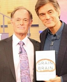 "Dr. David Perlmutter, the author of ""Grain Brain,"" says a grain-free, low-carb diet can prevent Alzheimer's and obesity."