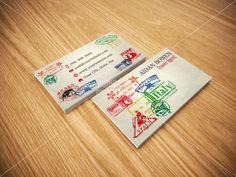 Custom Premade Travel Agent Business Cards