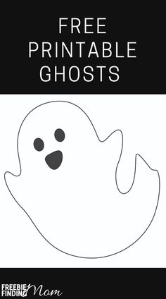 Do you want some fun Halloween activities to do with the kids? Download these Free Ghost Printables for the kids to color, decorate, and cut out then use them as printable Halloween decorations. These ghost template printables would make a great Halloween garland. You can download a friendly ghost, a spooky ghost, and more cute Halloween ghost printables. Have a spooktacular time! #printableghosttemplate #printableghostfaces #printablehalloweendecorations #printablehalloweencoloringpages