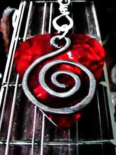 made with guitar strings