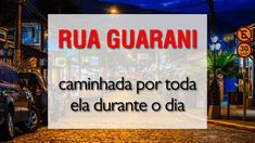Rua Guarani Ubatuba Caminhando E Passeando Por Ela Fullhd