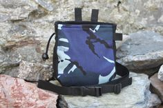 Camouflage Army Forces Style  Chalk Bag for Rock Climbing