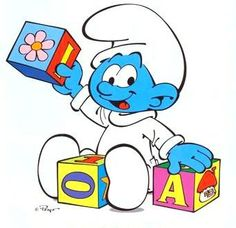 The Smurfs Network! Cartoon Character Pictures, Classic Cartoon Characters, Classic Cartoons, Vintage Cartoon, Cute Cartoon, Smurf Village, Old School Cartoons, Disney Concept Art, Image Fun