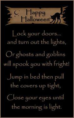 Vintage Halloween saying