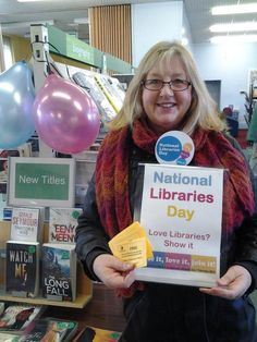 National Libraries Day at Godalming library, look out for Chris in the town!