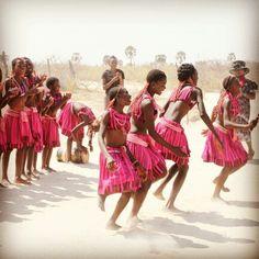 Namibian Cultural dance for the Oshiwambo speaking.