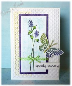 Speedy Recovery by frenziedstamper - Cards and Paper Crafts at Splitcoaststampers