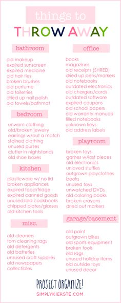 Cleaning Hacks and Tips for the new Spring Cleaning Season – things to throw away, cleaning Schedule, printables and infographics. Your household cleaning will be a fun experiment with these surprising cleaning recipes and tricks!