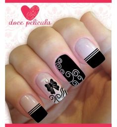 100 nail designs that you will love page 27 Fancy Nails, Diy Nails, Cute Nails, Pretty Nails, Fabulous Nails, Perfect Nails, Gorgeous Nails, Stylish Nails, Beautiful Nail Art