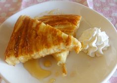 French toast made from rim of bread
