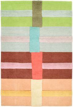 Doug and Gene Meyer rug, CROSSROADS