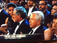 Robert Kraft in the house for @TheGRAMMYs too!